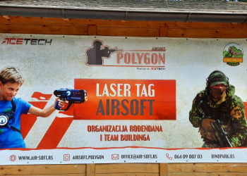 Air soft poligon